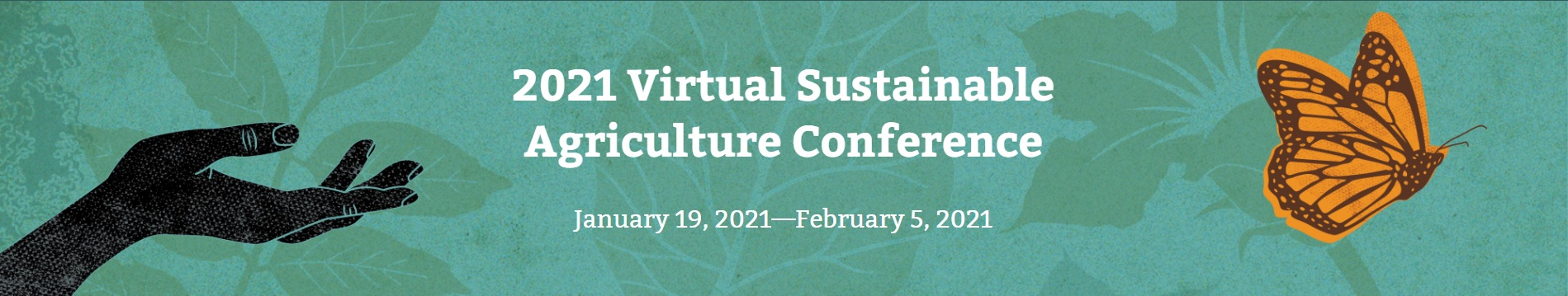 Pasa 2021 Virtual Sustainable Agriculture Conference -- Banner image 1